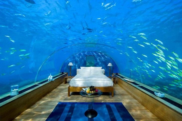 Hotel submarino en Maldivas