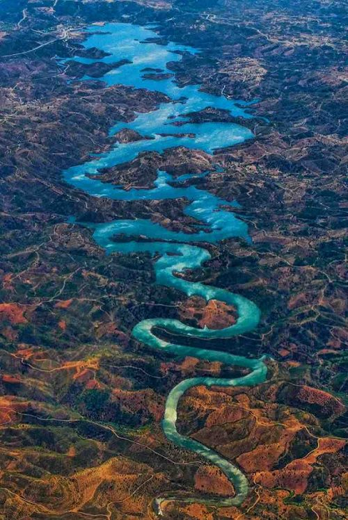 Río Blue Dragon en Portugal