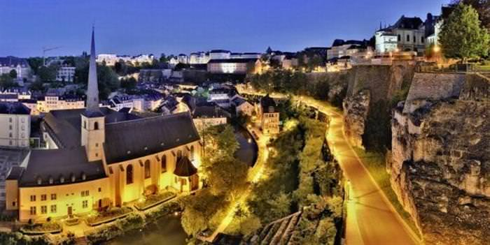15 lugares de luxemburgo  Ciudad de Luxemburgo