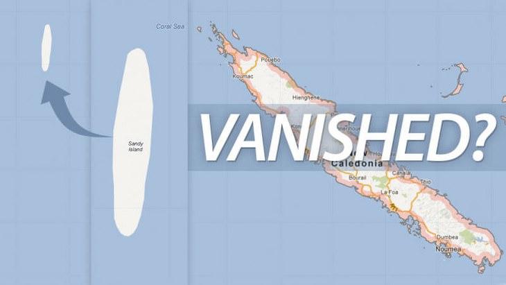 Islas Fantasma Isla Sandy