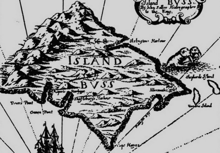 Islas Fantasma  Isla Buss