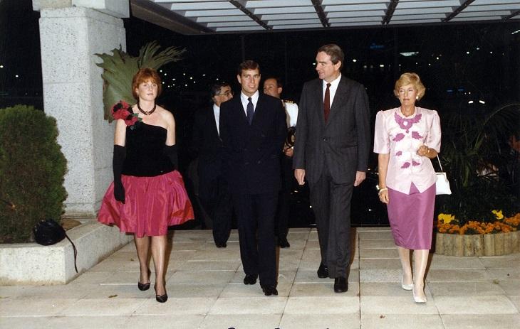 Divorcios De La Realeza  Príncipe Andrew y Sarah Ferguson