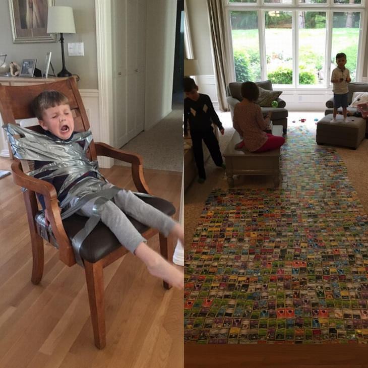 Imágenes Rivalidad Entre Hermanos Juego de cartas