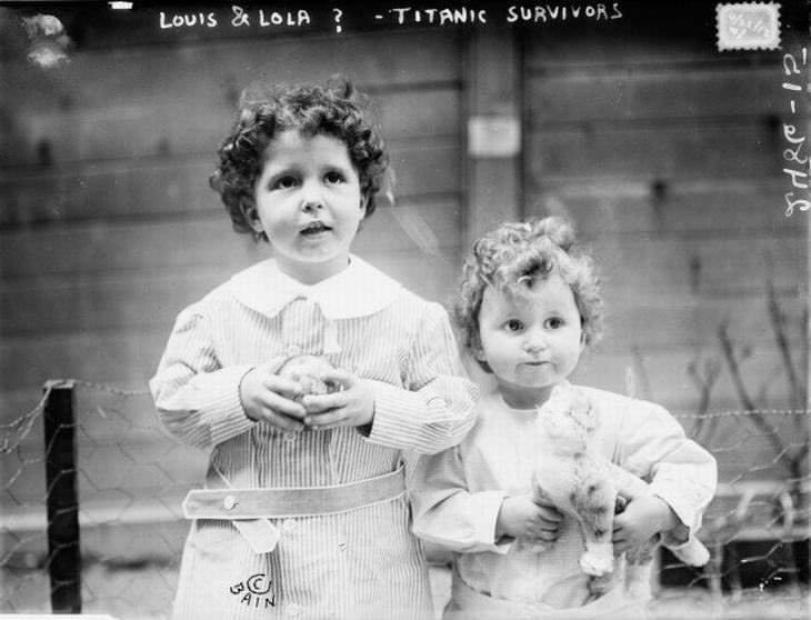 6 historias de supervivientes del Titanic que debes conocer Los huérfanos titánicos