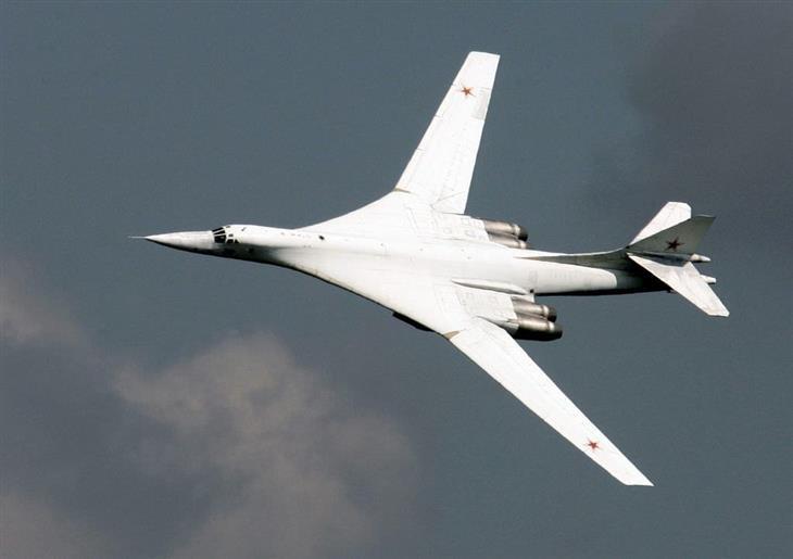 15 aviones mas grandes del mundo Tupolev Tu-160