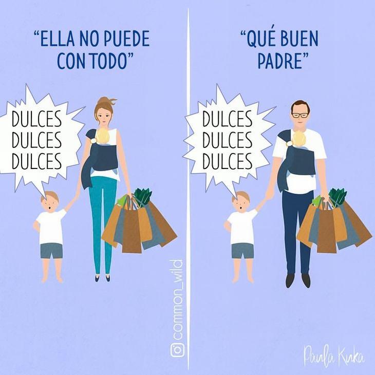 Imágenes Maternidad Paula Kuka Que buen padre