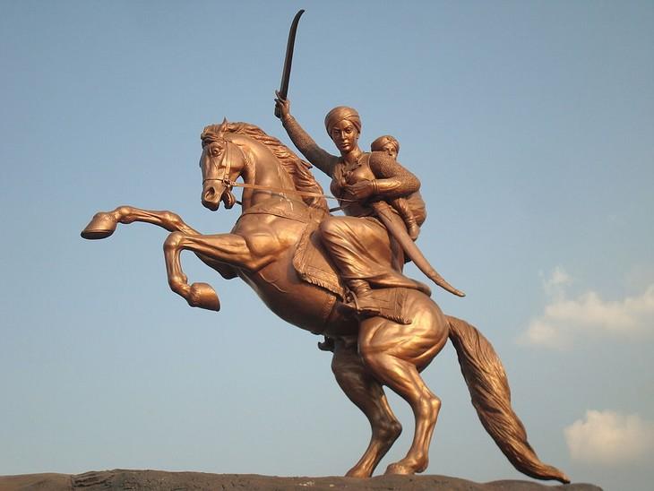 Guerreras De La Historia Lakshmibai, Rani de Jhansi