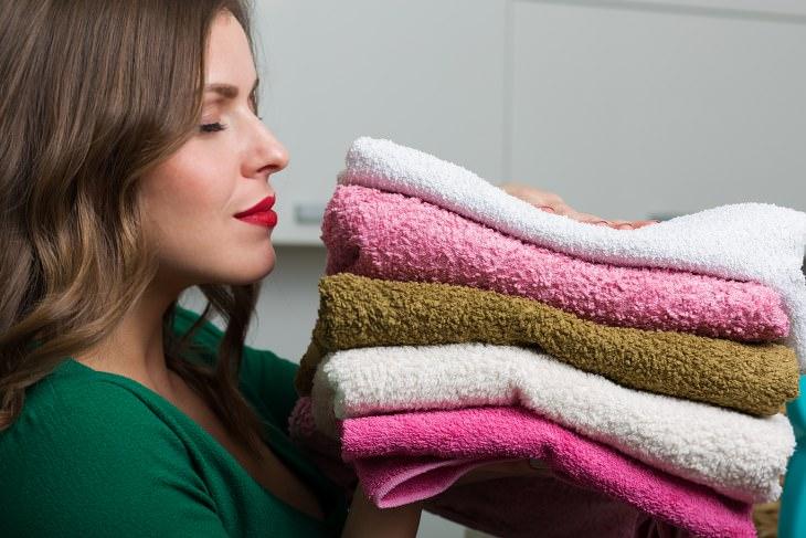 toallas con buen olor