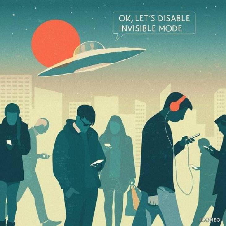 Imágenes Sociedad Moderna Zombies vivientes