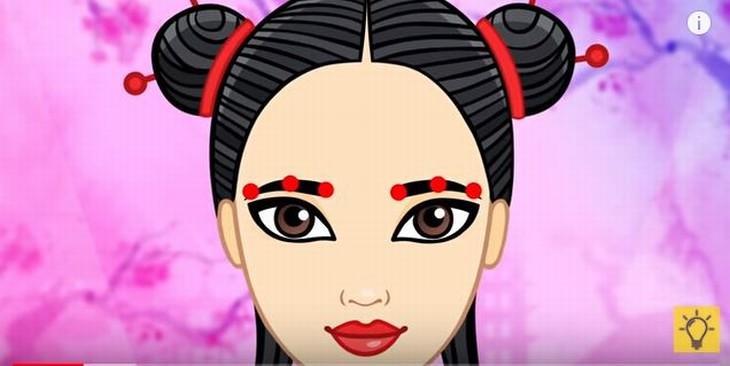 masaje japones ojos levanta tus cejas