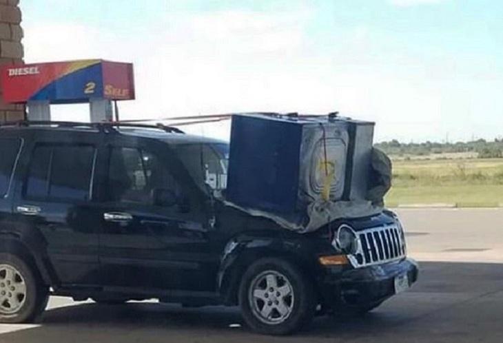 Malos Conductores Al Volante Jeep