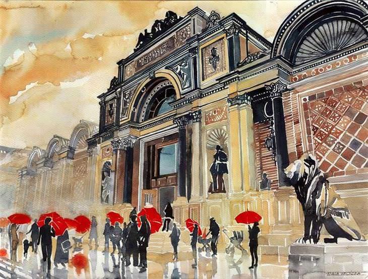 ciudaes en pinturas
