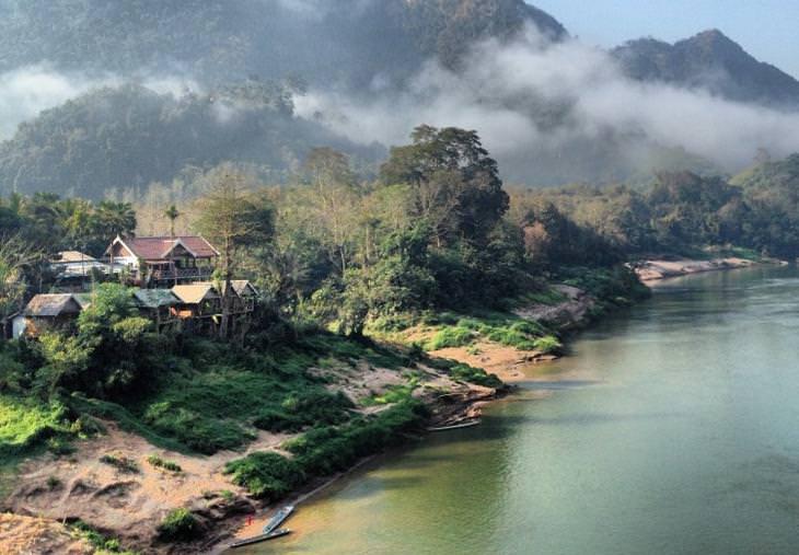 Lugares Laos