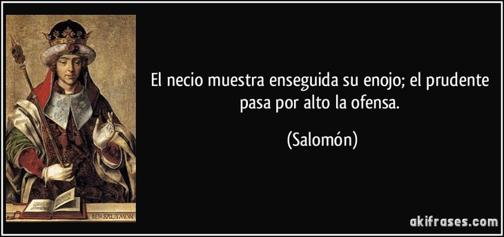 11 sabías citas rey salomón