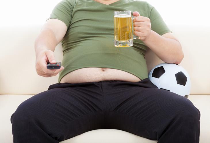 5 tipos de barriga no causados por comer en exceso