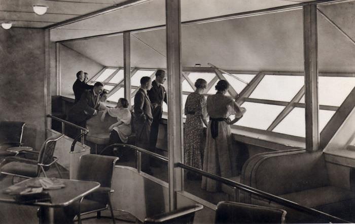 Fotos Únicas Muestran Cómo Era Volar En El Graf Zepelín