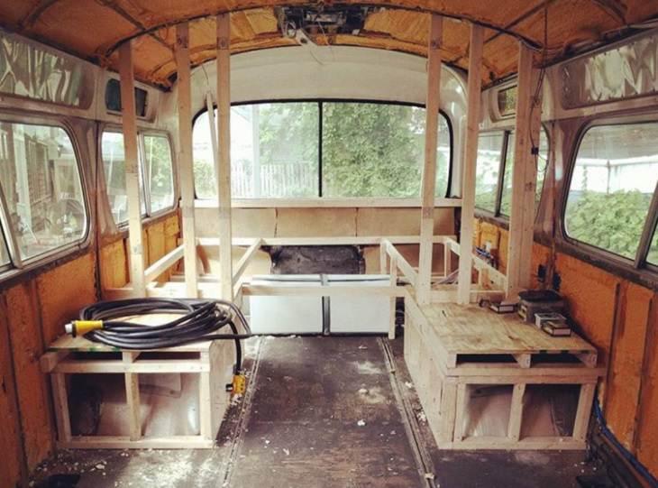 convertir bus escolar en casa