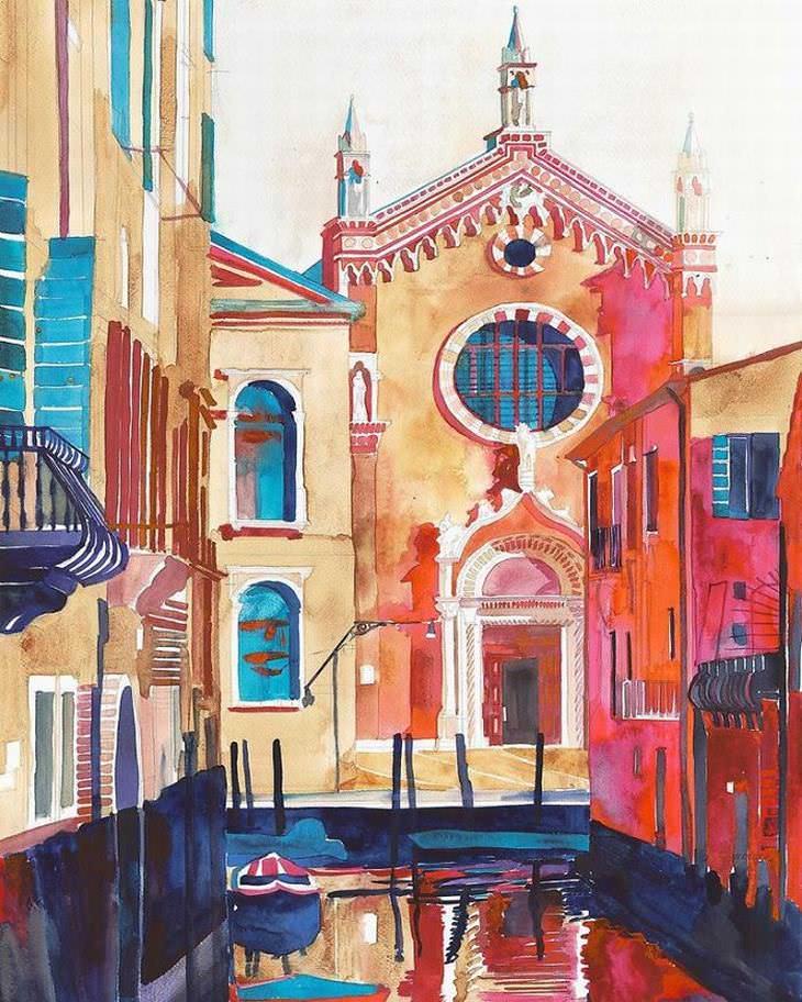 hermosas pinturas venecia