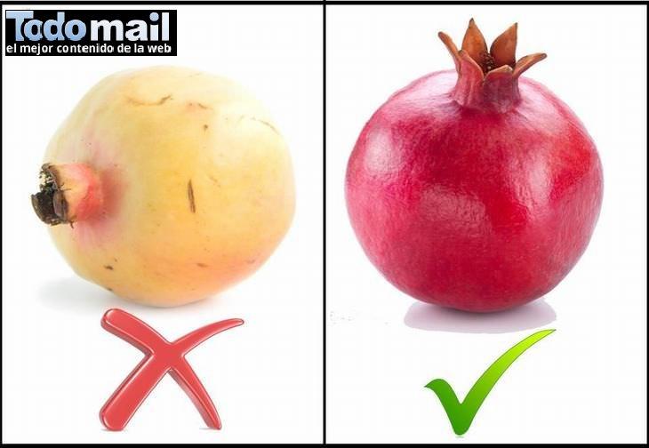 fruta madura guía