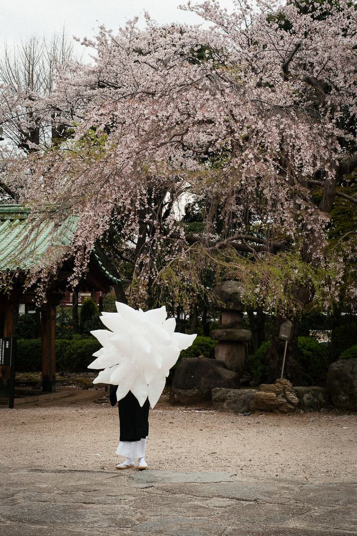 extrañas fotos Japón