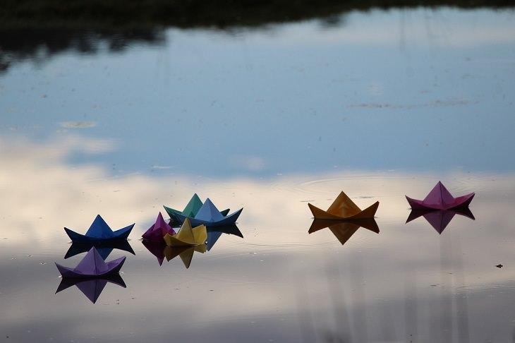 Orígenes Del Origami