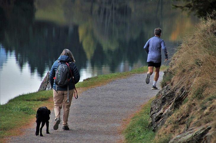 Beneficios De Caminar y Correr