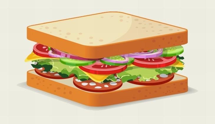 errores sandwich