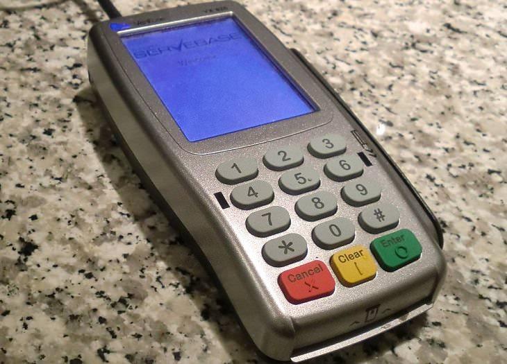 no deslizar tarjetas crédito