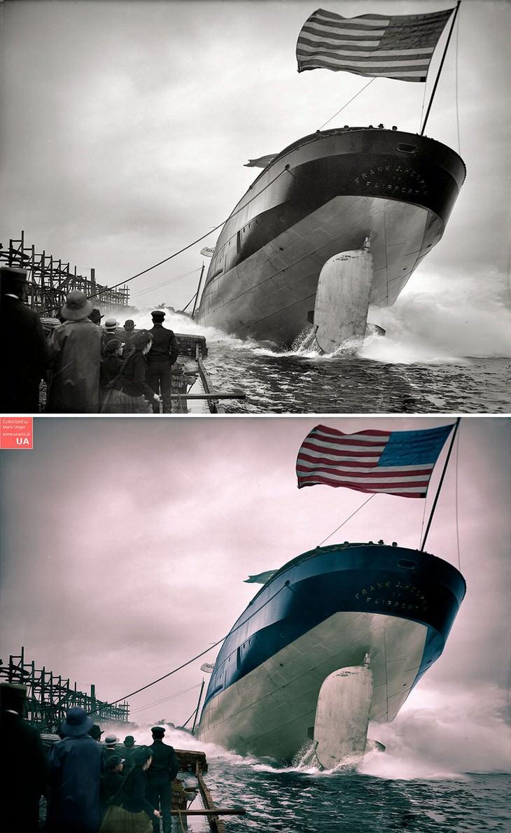 Fotos De La Historia a Color