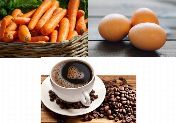 Cuento De La Zanahoria, El Huevo y El Café