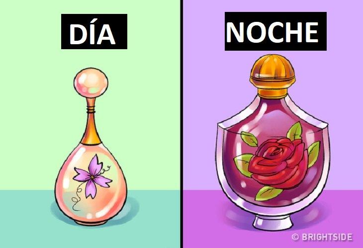 guía para usar tu perfume correctamente