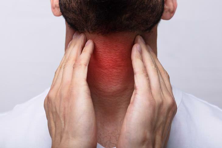 bulto detrás de la oreja detección de células cancerosas