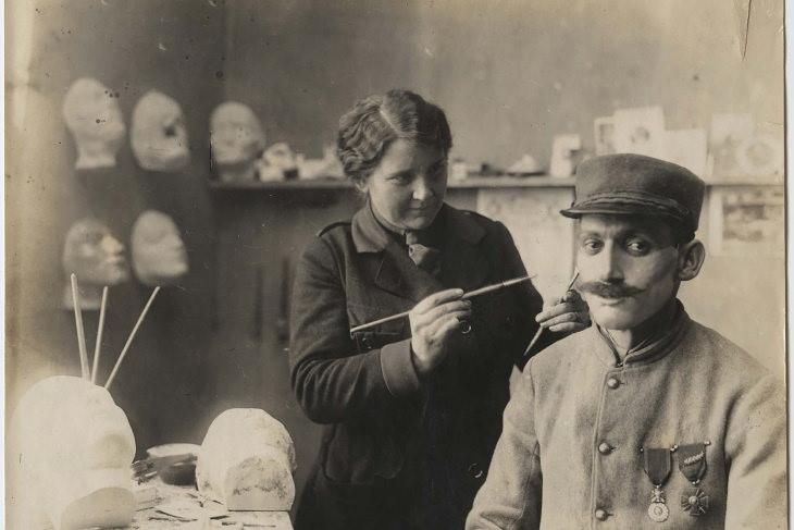 inventos segunda guerra mundial 7. Cirugía plástica moderna