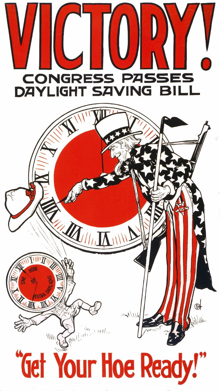 inventos segunda guerra mundial horario de verano