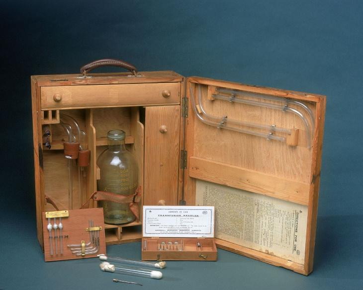 inventos segunda guerra mundial bancos de sangre