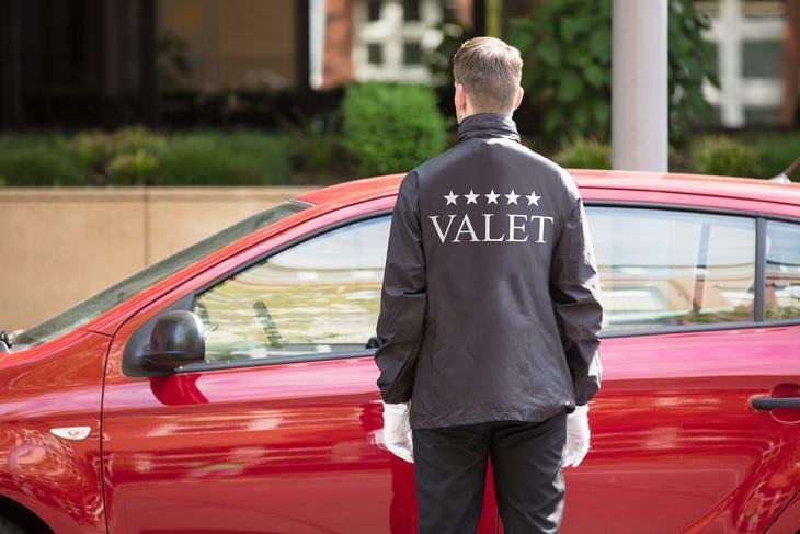 Chiste: El Chico Del Valet Parking