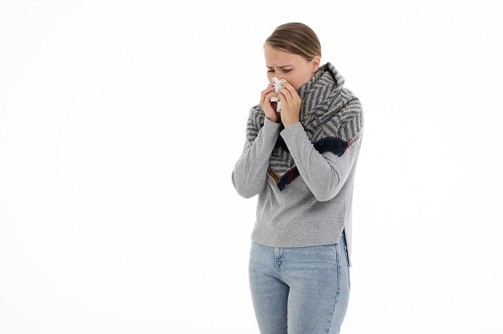 El aire frío te provoca un resfriado