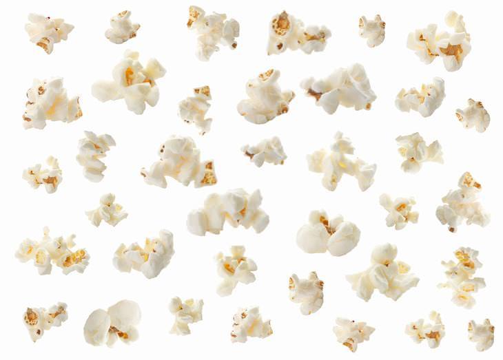 Las Palomitas de maíz contienen más polifenoles que frutas y verduras
