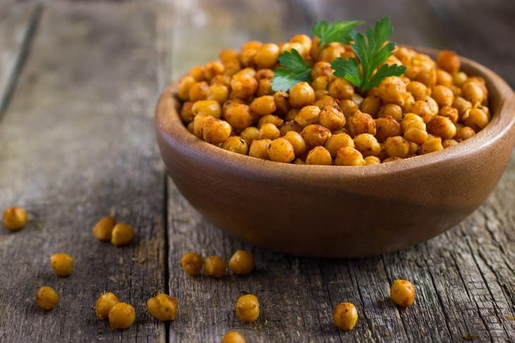 1. Garbanzos (y otras legumbres) comidas para perder peso