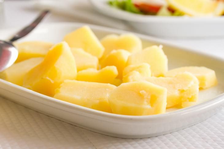 papas hervidas alimentos para perder peso