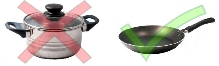 trucos de cocina Problema 2: Arroz demasiado pegajoso