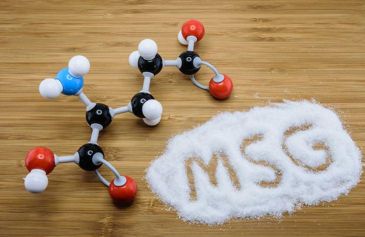 Alimentos con glutamato de sodio