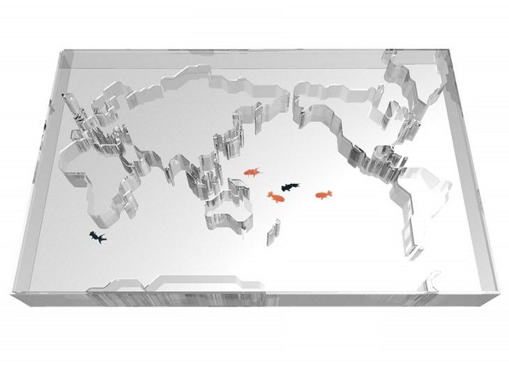 25 Increíbles Acuarios Que Te Sorprenderán 14. World Trip Aquarium, por Takuro Yamamoto