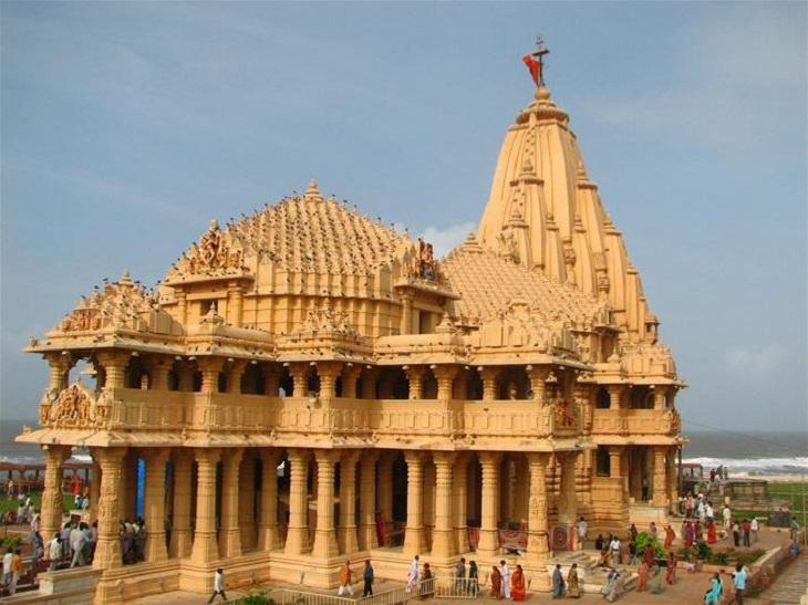 Templos Hinduistas Del Mundo Templo de Somnath en Gujarat, India