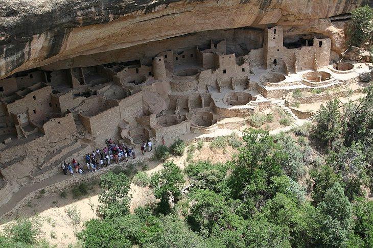 Sitios Patrimonio De La Humanidad En EE.UU Parque Nacional Mesa Verde, Colorado