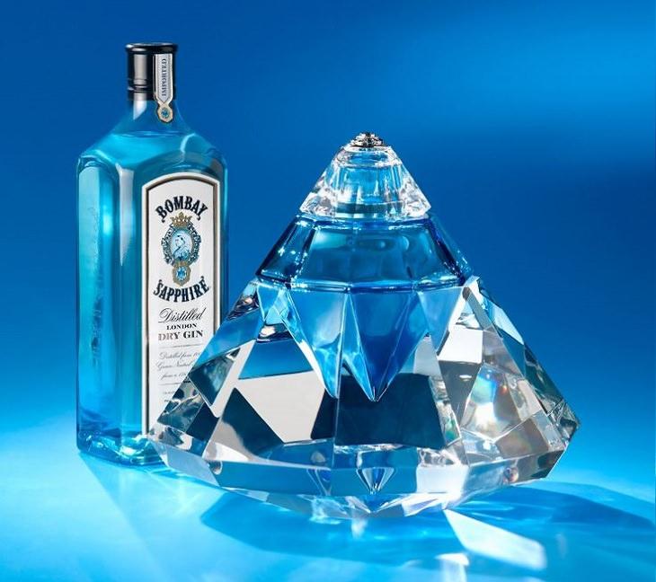 Los licores, licores y alcoholes más caros vendidos en todo el mundo, Bombay Sapphire Revelation: $ 200,000