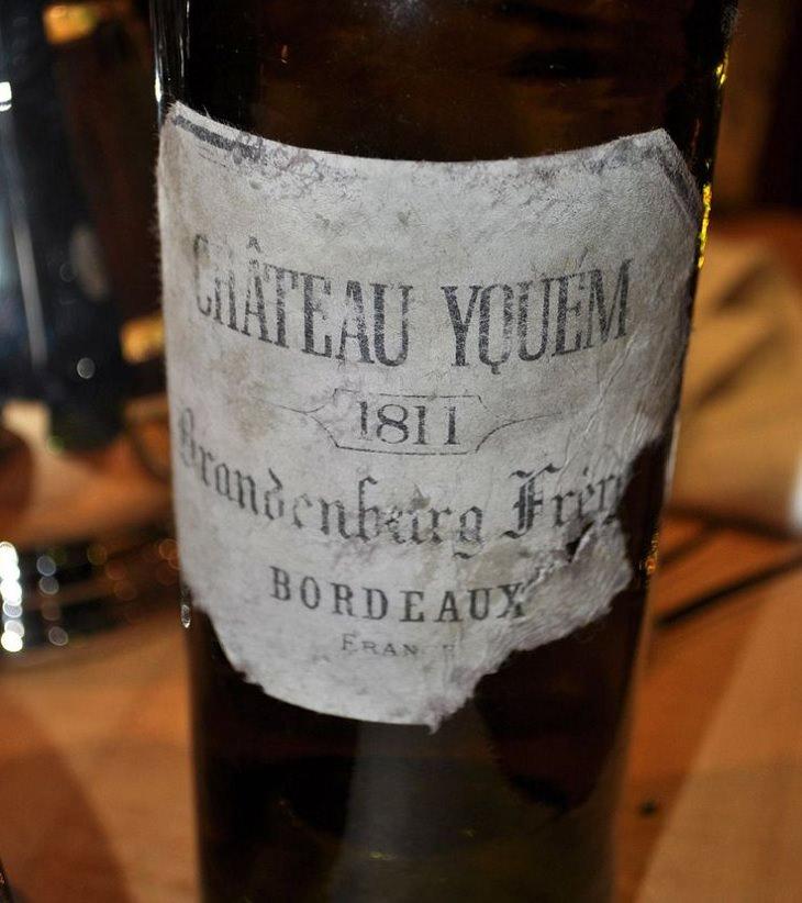 Los licores, licores y alcoholes más caros vendidos en todo el mundo, 1811 Chateau D'y'quem, $ 130,000