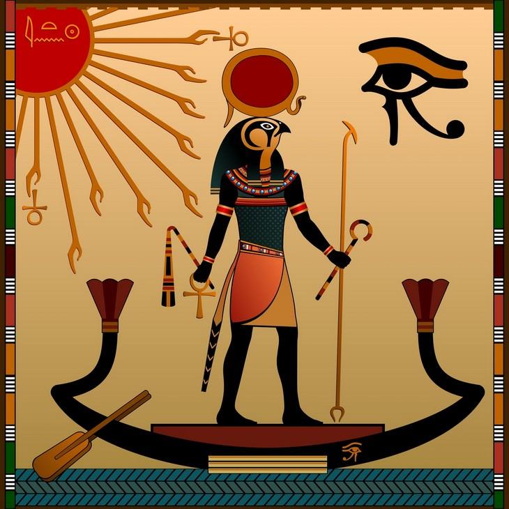 dioses egipcios Ra