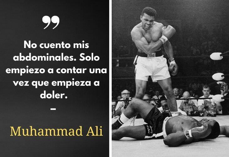 10 Poderosas Frases De Deportistas Que Te Motivarán Muhammand Ali, boxeador