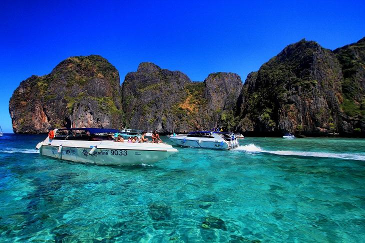 20 Espectaculares Fotografías De La Maravillosa Kabri En Tailandia explorando en botes